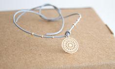 Armbänder - Glücksarmband *MAKE a WISH* mit einem Mandala - ein Designerstück von miofinie bei DaWanda