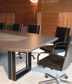 Davidson by José Martínez Medina Meeting Table, Meeting Rooms, Conference Table Design, Jose Martinez, Reception Table, Office Reception, Office Table, House Design, Tables
