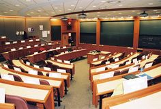 HBS Classroom Harvard Architecture, Conference Room, Classroom, The Unit, Table, Furniture, Home Decor, Class Room, Decoration Home