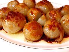 Cocinando con Lola García: Cebollitas francesas glaseadas