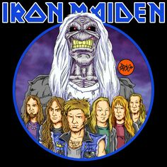 "PARDO DIBUJOS: IRON MAIDEN ""Brave New World"""