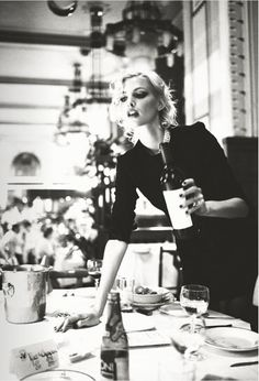 ♛ some drama, some wine and a black dress...