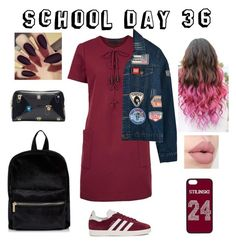 """School day 36"" by paraskevi1911 on Polyvore featuring Kendall + Kylie, adidas Originals, Chicnova Fashion and Ted Baker"