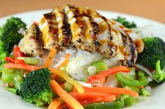 Authentic Teriyaki Chicken...will change out agave or xylitol for the sugar