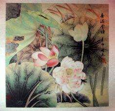La belleza del #ArteChino en la OFERTA DEL DÍA: esta acuarela pintada a mano. http://maimaiwenhua.com/tienda/estanque-belleza-arte-chino  #China #ArteOriental #CulturaChina #Asia