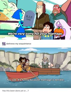 Oh god yes, but it's still funny each time. Haven't watched Steven Universe yet, due to scary friends and me just not wanting to...........