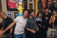 Francesco Montanari e Pierluigi Ferrantini -#HardRock #Rome 15th Anniversary #Party! #Happybdayhrcrome #Borntorock