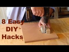 8 Time And Money Saving Ideas With Woodworking – WooDesigner