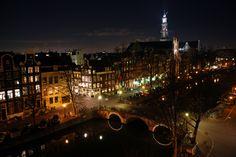 Amsterdam by night by Dariusz Sobecki on 500px