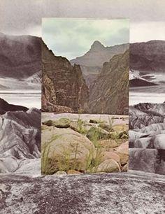 Brion Nuda Rosch, new contemporary collage