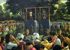 "13 August, 1891 in the History of Manipur  On 13 August, 1891 Tikendrajit Singh and Thangal General were hanged at Imphal Market at 5 p.m. Some weeks earlier, three men - Niranjan Subedar, Kajao SIngh ( Killer of Grimwood) and Charang Thangal ( Chirai) were hanged on various charges. The Anglo-Manipur war had ended.  Sir James Johnstone - "" Let us beware, we have not heard the last of Manipur"""