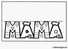 ΚΑΡΤΕΣ ΜΑΜΑ ~ Los Niños Mothers Day Crafts For Kids, Mothers Day Cards, Mothers Day Coloring Pages, Preschool Education, 3d Cards, Mom Day, Mother And Father, Craft Activities, Fathers Day