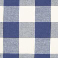 Robert Allen CHECKERED OUT CALYPSO BLUE Fabric