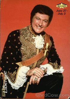 good ol' Liberace, My Grandmother thought he was so pretty!!