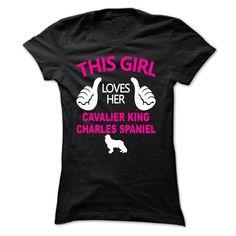 This Girl Loves Her Cavalier King Charles Spaniel - TT1