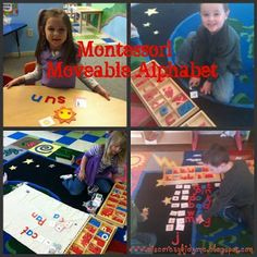 Montessori Moveable Alphabet  from discoverykidzone.blogspot.com