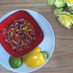 slimming world salsa