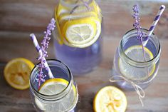 Lavender Lemonade - Skinny version! Sounds perfect for the Spring and Summer seasons! Eat Yourself Skinny