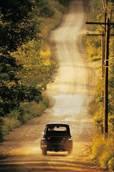 Country roads take me home ...