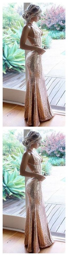 Mermaid Spaghetti Straps Floor-Length Champagne Sequined Prom Dress by olesaweddingdresses, $134.87 USD Chromatic Aberration, We Can Do It, Prom Dresses, Formal Dresses, Wedding Veil, Spaghetti Straps, Champagne, Mermaid, How Are You Feeling