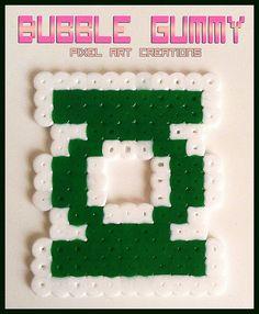 Green Lantern Hama beads