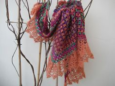 Ravelry: fanalaine's End of Year with Granny ... border from All Shawl crochet pattern by Doris Chan