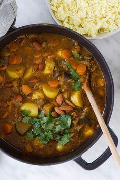 Ras El Hanout, Cooking Recipes, Healthy Recipes, Middle Eastern Recipes, Slow Cooker, Nom Nom, Curry, Good Food, Food Porn