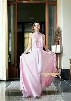 I sogni diventano realtà. Mauro Franchi trasforma ogni donna in una principessa.              Abito da cerimonia | SS'17| LIBELLULA by Mauro Franchi| Milano