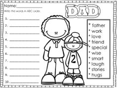 help writing father's day card