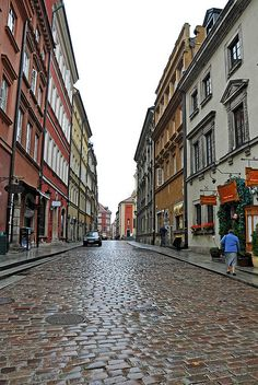 Warsaw, Poland...the only place i'v been mugged