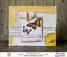 """Schau mal wie schön: Karteninspirationen mit Maggie Holmes """"Confetti"""" von Crate Paper von Mary-Jane für www.danipeuss.de"""