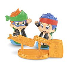 Bubble Guppies Rock & Roll Gil and Nonny - Fisher-Price Online Toy Store