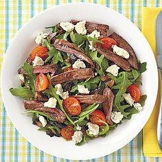 Grilled Steak and Portobello Salad Recipe