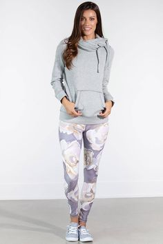 Everbloom leggings exclusive to Silver Icing Silver Icing, Stretch Fabric, White Jeans, Active Wear, Leggings, Pants, Shopping, Collection, Fashion