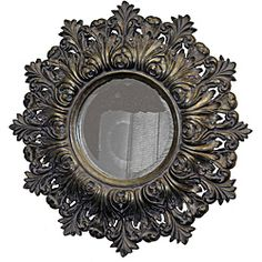 @Overstock - Intricate details adorn this superb antique silver-colored wall mirror. This uniquely beveled mirror is perfect for any decor.http://www.overstock.com/Home-Garden/Traditional-Lavender-and-Antique-Silver-Mirror/5784721/product.html?CID=214117 $245.99