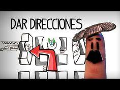 Preguntar y dar direcciones en español - Español inicial - YouTube