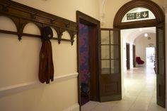 The old Clothes Hooks in the Reception Foyer of the Leopold Hotel #hotelsinsheffield #Leopold #Sheffield