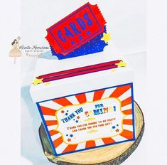 Carnival card box , carnival cards holder