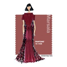 ESOSA: Signature Colors - The most important color in our Fall 2015 collection is Bordeaux. This color spoke to us – its rich, bold, sophisticated and it complements everyone's skin tone.