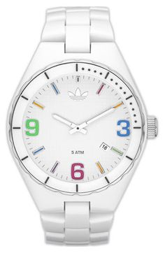 adidas Originals 'Resin Cambridge' Bracelet Watch available at Nordstrom