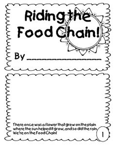 Food Chain Mini Book (Free)