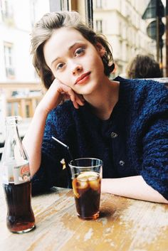 quentin de briey (www.quentindebriey.com) : this is a photo of Mathilde Warnier I shoot for PIG magazine in Paris last february