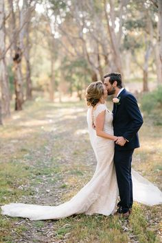 Romantic bride and groom portrait by Aviana Arden Photography