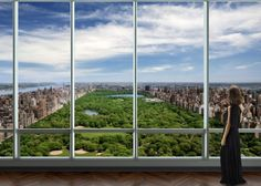 $110 million One57 Penthouse, New York.    Meet the most expensive home listing ever in Manhattan — a $110 million glass-walled penthouse overlooking Central Park on top of what will soon be New York's tallest luxury condo. The six-bedroom penthouse covers 10,923 square feet at One57 Tower, currently under construction on West 57th Street near Carnegie Hall.