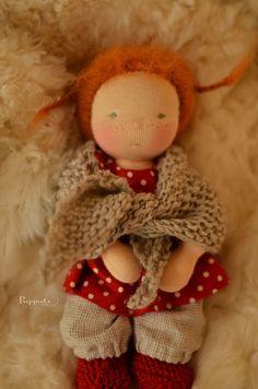 custom Waldorf doll by Puppula (links to photo gallery)