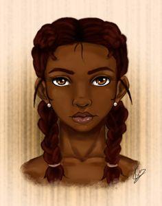 A Dark Beauty by KiraTheArtist.deviantart.com on @deviantART  [Rowena inspiration]
