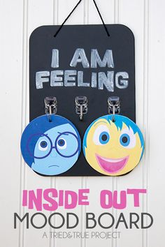 Best Diy Crafts Ideas Inside Out Mood Board -Read More – Social Work, Social Skills, Feelings And Emotions, Inside Out Emotions, Expressing Feelings, Child Life, School Counselor, Classroom Management, Elementary Schools