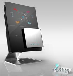 Electronic displays cell phone gondola kiosk station for Medical design consultancy