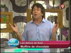 MUFFINGS.-  Los dulces de Ariel: Muffins de chocolate