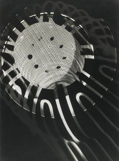 Laszlo moholy nagy, photogram. Light itself becomes a malleable medium for generation design and form.